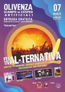 Festiv Al-Ternativa 2020 en Olivenza