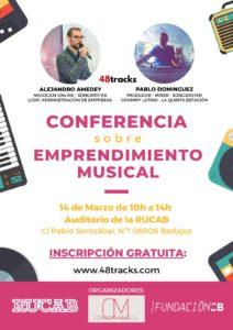 Conferencia sobre emprendimiento musical
